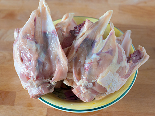 Whole Chicken Bones