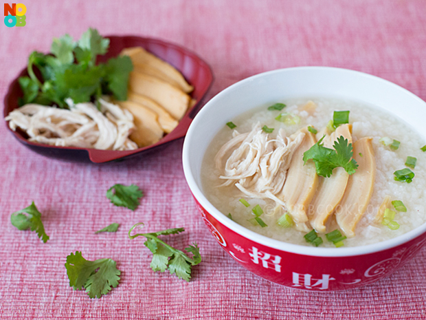 Abalone Chicken Congee