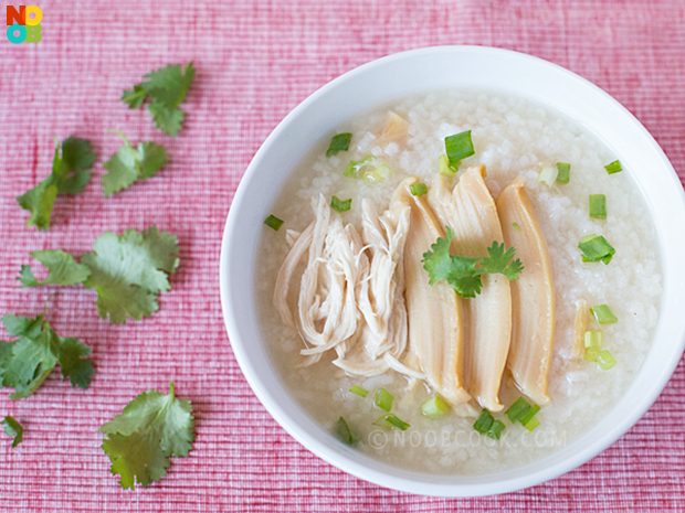 Abalone Chicken Congee (Porridge)