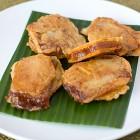 Nian Gao Sweet Potato Sandwich
