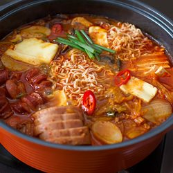Budae Jigae (Korean Army Stew)