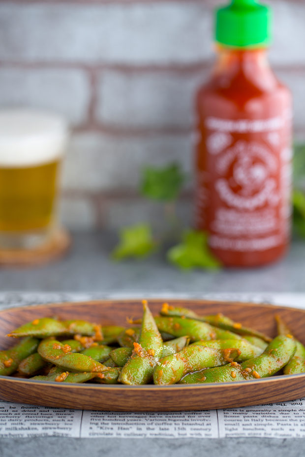 Sriracha Edamame Recipe