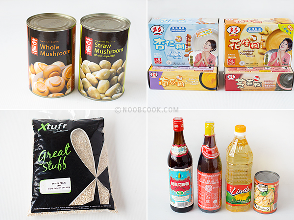 Chinese Cooking Products