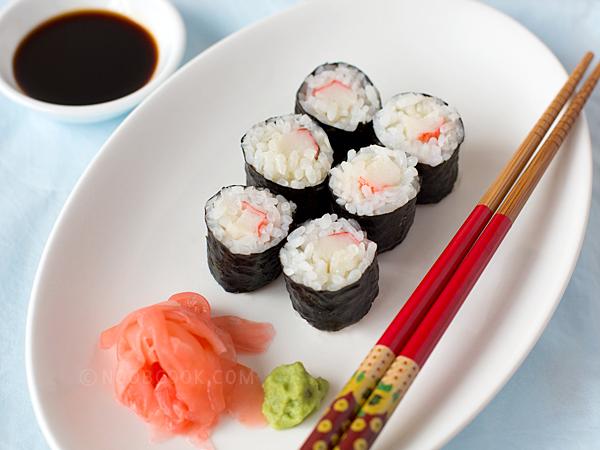 recipe: crab meat sushi filling [6]