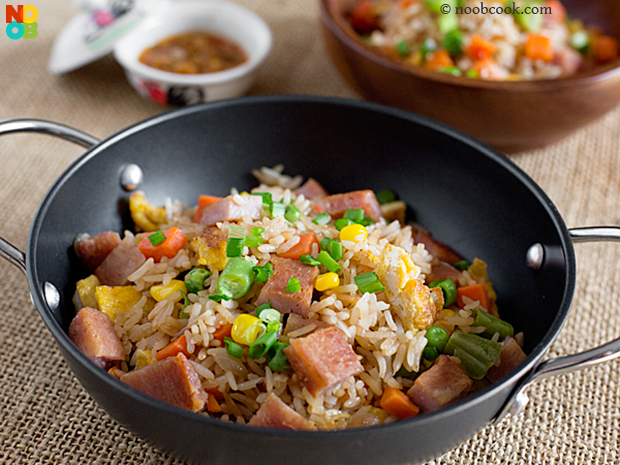 Luncheon Fried Rice