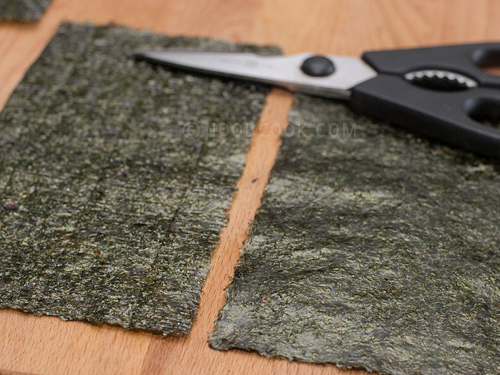 seaweed (nori sheet)