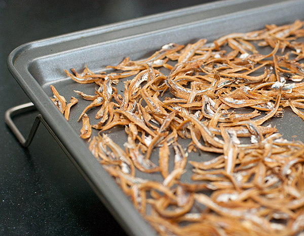 Crispy Baked Anchovies