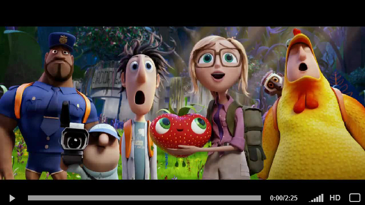CLOUDY WITH A CHANCE OF MEATBALLS 2 - Official Trailer