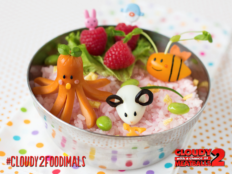 Foodimals Bento