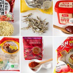 Korean Cooking Ingredients