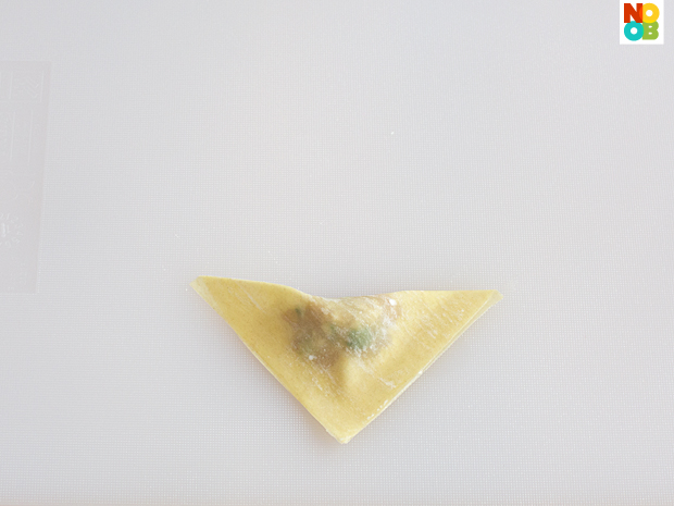 How to fold money bags wontons