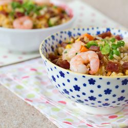 Bak Kwa Fried Rice Recipe