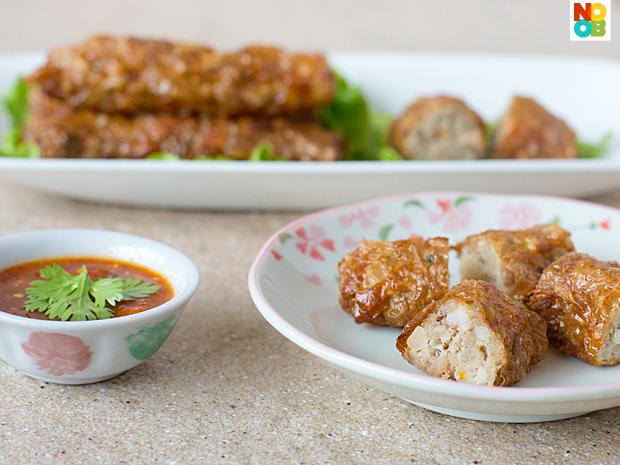 Ngoh Hiang Recipe (Five-Spice Meat Rolls)