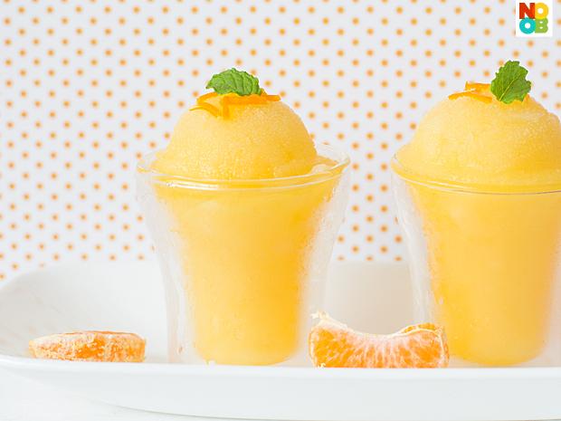Orange Sorbet Recipe
