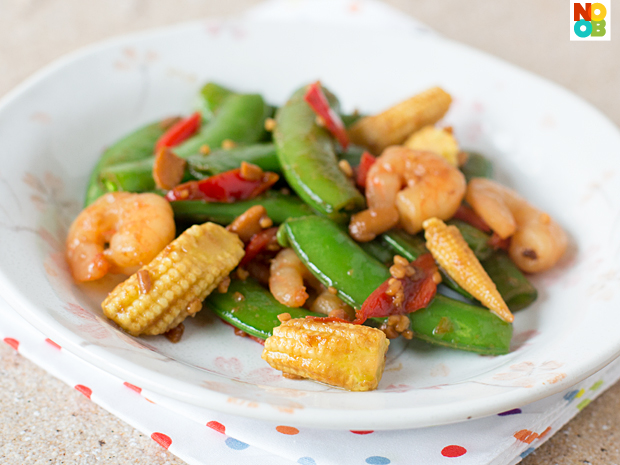 Stir-fry Sugar Snap Peas Recipe