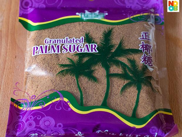 granulated gula melaka (palm sugar)