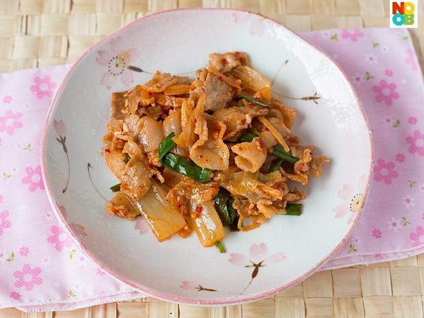 Kimchi Pork Stir-Fry Recipe