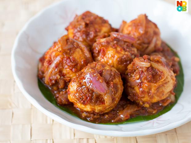 Sambal Cuttlefish Balls Recipe