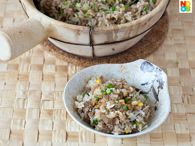 Beef Claypot Rice Recipe