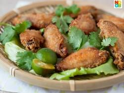 Air-Fried Prawn Paste Chicken Recipe