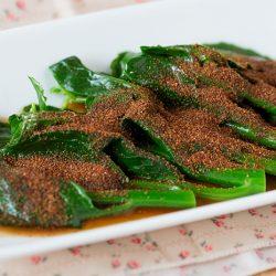 Hong Kong Kailan in Shrimp Roe Powder