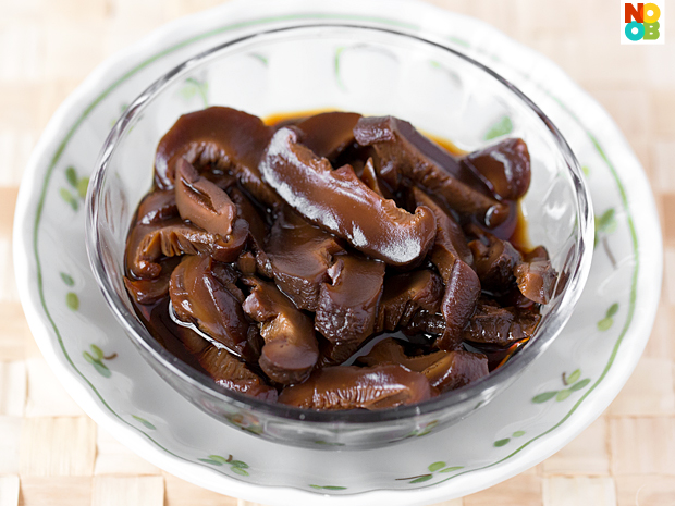 Stewed Mushrooms (for Bak Chor Mee)