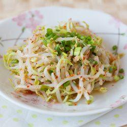 Korean bean sprout salad (Sukju Namul)