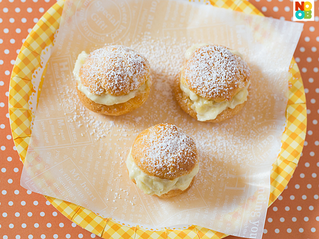 Durian Cream Puff Recipe