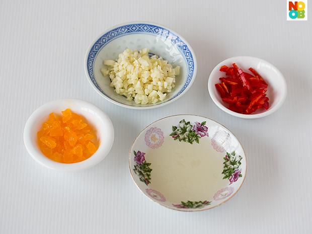 Bittergourd Salted Egg Recipe