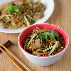 Braised Ee-Fu Noodles Recipe