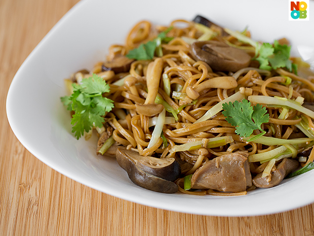 Braised Ee-Fu Noodles Recipe