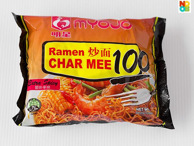 Myojo Ramen Char Mee 100 (Instant Noodles Review)