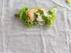 How to Wrap Summer Rolls
