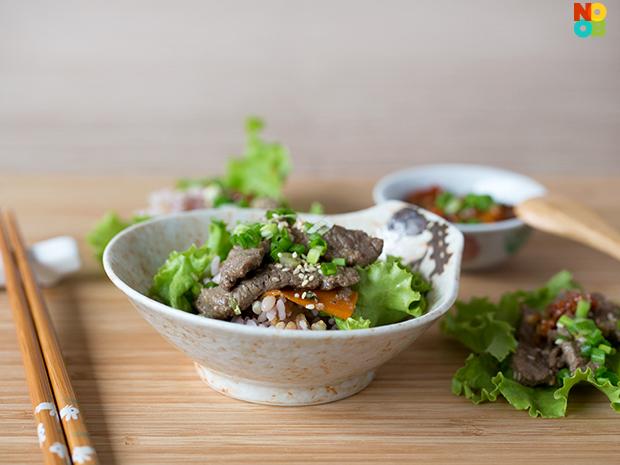 Beef bulgogi recipe korean beef bbq noob cook recipes beef bulgogi recipe forumfinder Images