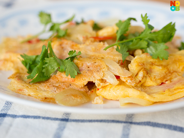 Cincalok Egg Recipe