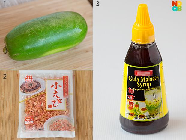 Som Tam (Papaya Salad) Ingredients