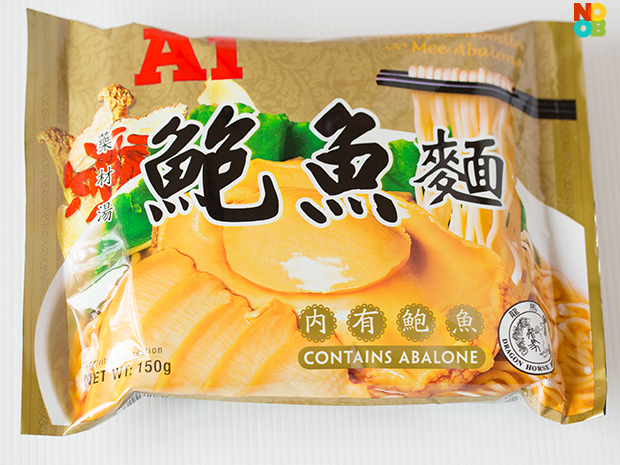 A1 Abalone Instant Noodles Review