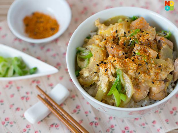 Chicken Donburi Recipe