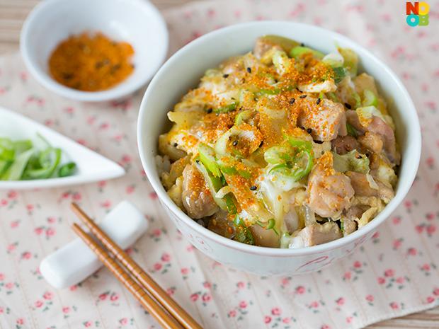 Chicken Donburi (Oyakodon) Recipe