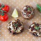Sun-dried Tomatoes Stuffed Mushrooms Recipe