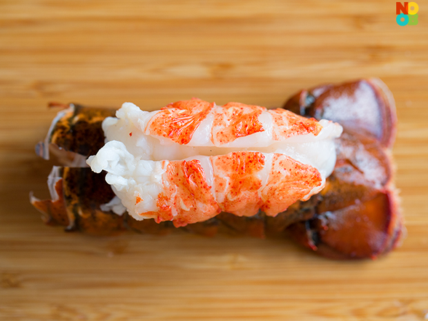 How to butterfly lobster tail
