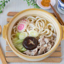 Udon Noodle Soup with Pork Recipe