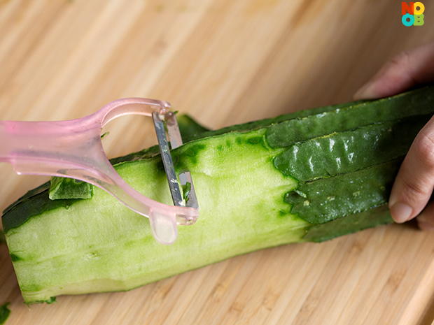 How to prep luffa