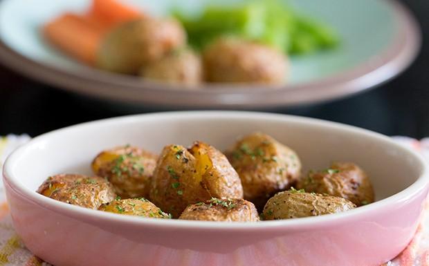 Crispy Roasted Baby Potato Recipe