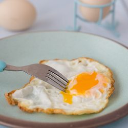 Crispy Fried Egg Recipe