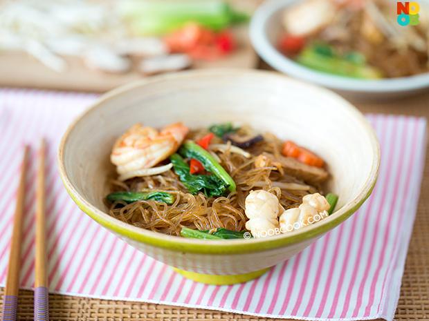 Fried Tang Hoon Recipe