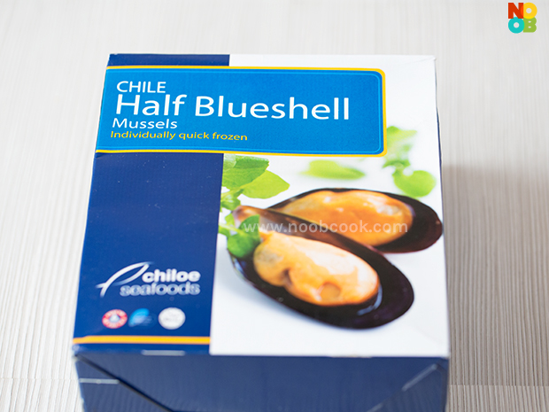 Frozen Half-Shell Mussels