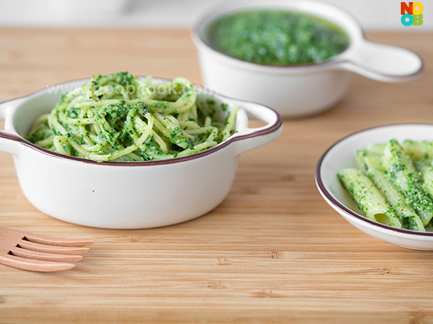 Spinach Pesto Pasta Recipe