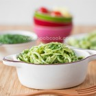 Spinach Pesto Spaghetti Recipe