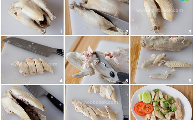 How to carve boneless chicken